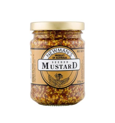 Newmans Seeded Mustard 250g